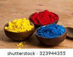 red  yellow and blue  ryb  form ... | Shutterstock . vector #323944355