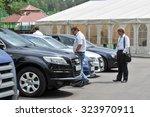 moscow  russia   june 3  2009   ... | Shutterstock . vector #323970911