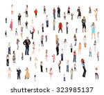 people diversity united company  | Shutterstock . vector #323985137