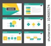 green and yellow multipurpose... | Shutterstock .eps vector #324005174