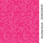 Pink Lace Vector Fabric...