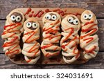 Halloween Homemade Food Sausag...