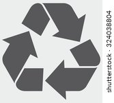 recycle sign | Shutterstock .eps vector #324038804
