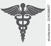 caduceus medical symbol | Shutterstock .eps vector #324038837