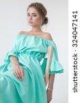 portrait of beautiful woman... | Shutterstock . vector #324047141