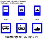 traffic signs on slovene roads  ... | Shutterstock .eps vector #32404744
