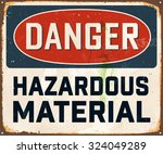 danger hazardous material  ... | Shutterstock .eps vector #324049289