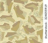 polygonal geometric desert... | Shutterstock .eps vector #324055919