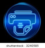 printer icon.  with clipping... | Shutterstock . vector #3240585