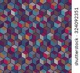 vector seamless pattern... | Shutterstock .eps vector #324092351