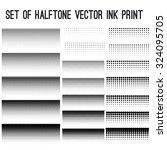 grunge vintage halftone vector... | Shutterstock .eps vector #324095705