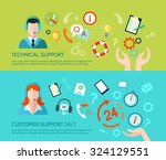 comprehensive technical... | Shutterstock .eps vector #324129551
