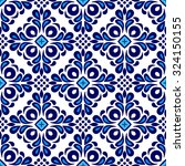 abstract seamless ornamental... | Shutterstock .eps vector #324150155