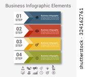 modern spiral infographics... | Shutterstock .eps vector #324162761