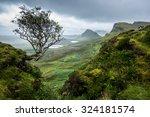 the quiraing  skye  scotland | Shutterstock . vector #324181574