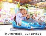 Senior Couple Having A Ride In...