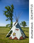 Teepee On Manitoulin