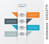 design banner modern  orange  ... | Shutterstock .eps vector #324213779