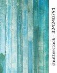 vintage blue tone old wood... | Shutterstock . vector #324240791