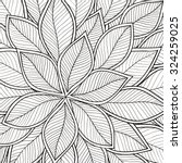 pattern for coloring book.... | Shutterstock .eps vector #324259025