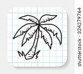 plant doodle | Shutterstock .eps vector #324279764