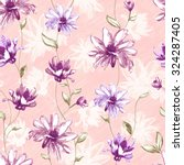 vivid repeating floral   for... | Shutterstock . vector #324287405