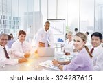brainstorming discussion... | Shutterstock . vector #324287615