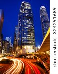 hong kong city lights cityscape ... | Shutterstock . vector #324291689
