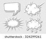 illustration of a collection of ... | Shutterstock . vector #324299261