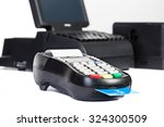 credit card processor ... | Shutterstock . vector #324300509