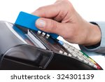 close up of cards servicing... | Shutterstock . vector #324301139
