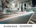 city road viaduct streetscape... | Shutterstock . vector #324309659