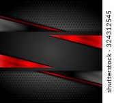 Tech Dark Design With...