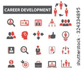 career development icons | Shutterstock .eps vector #324334895