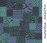 vector abstract seamless... | Shutterstock .eps vector #324347915