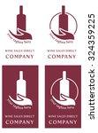 wine logo company   sales...   Shutterstock .eps vector #324359225