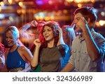 party  holidays  celebration ... | Shutterstock . vector #324366989