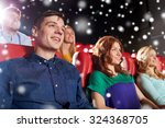 cinema  entertainment and... | Shutterstock . vector #324368705