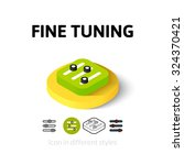 fine tuning icon  vector symbol ...