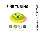 fine tuning icon  vector symbol ...