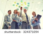 business  people  teamwork and... | Shutterstock . vector #324371054