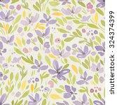 seamless watercolor pattern on...   Shutterstock . vector #324374399