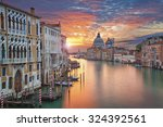 Venice. Image Of Grand Canal In ...