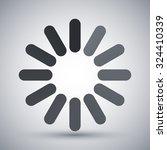 loading icon  vector | Shutterstock .eps vector #324410339