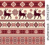 nordic tradition pattern | Shutterstock .eps vector #324411509
