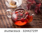 Tea Rosehip. Vitamin Drink.