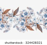 beautiful original watercolor... | Shutterstock . vector #324428321