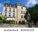 Small photo of BERGERAC, FRANCE - SEPTEMBER 10, 2015: Statue of Cyrano in Bergerac, Aquitaine, Dordogne, France, September 2015