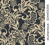 elegance seamless pattern with... | Shutterstock .eps vector #324455354