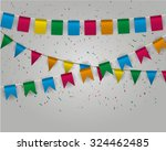 Color Pennant Bunting...